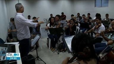 Último concerto do ano da Quarta Sinfônica vai ser realizado na quarta no Teatro Deodoro - Último ensaio foi realizado nesta terça-feira.