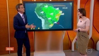 Previsão é de temporal no Rio de Janeiro na tarde desta quarta-feira (18) - Em São Paulo, a chuva forte vai parar, mas no Rio de Janeiro terá temporal a partir da tarde.