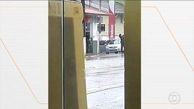 Polícia procura por quadrilha de assaltantes de bancos no interior de Santa Catarina - Mais de R$ 200 mil foram levados pela quadrilha. Esse é o quarto ataque com as mesmas características nessa região apenas em 2019.