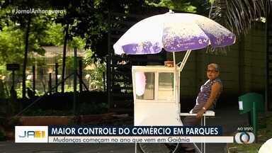 Vendas de produtos nos parques sofrem mudanças a partir de 2020, em Goiânia - Ambulantes terão que pagar impostos para vender seus produtos nos parques da capital.