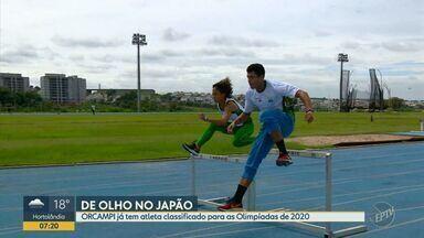 Orcampi já tem atleta classificado para as Olimpíadas de Tóquio - Uma das melhores equipes de atletismo do país terminou a temporada com um atleta classificado para as Olimpíadas de 2020.