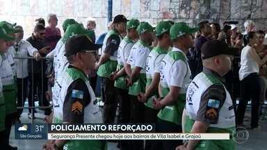 Segurança Presente chega aos bairros de Vila Isabel e Grajaú - O patrulhamento será todos os dias de 6 da manhã até 10 da noite.