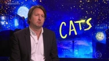 Diretor de 'Cats' comenta polêmica sobre visual do filme, que conta com astros da música - Taylor Swift e Jason Derulo participam do musical que chega aos cinemas com tecnologia inédita desenvolvida a pedido de Tom Hooper.