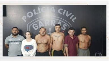 Polícia de MS procura por quadrilha que cavava túnel para assaltar Banco do Brasil - De acordo com as investigações, eles trabalharam por quase seis meses cavando esse túnel de 63 metros.