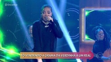 Ludmilla canta 'Verdinha' - Confira