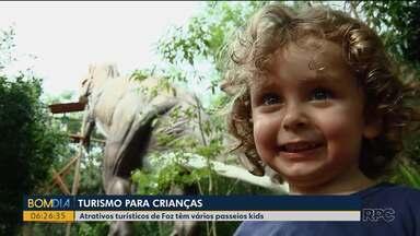 Veja as opções de turismo para as crianças em Foz do Iguaçu - Atrativos turísticos de Foz têm vários passeios kids.