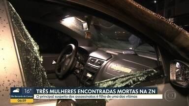 Três mulheres são encontradas mortas dentro de casa da Zona Norte de SP - Principal suspeito é filho de uma das vítimas.