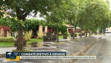 Morungaba é a cidade com o menor número de casos de dengue em 2019 - Cidade apresentou apenas dois casos confirmados da doença.