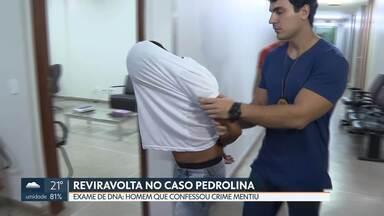 Polícia descobre reviravolta no caso Pedrolina - Homem que confessou ter cometido crime, na verdade, mentiu. Verdadeiro criminoso foi preso.