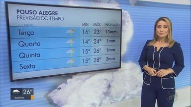 Confira a previsão do tempo para esta terça-feira (24) no Sul de Minas - Confira a previsão do tempo para esta terça-feira (24) no Sul de Minas
