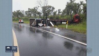 Mulher de 26 anos morre em acidente na BR-267, em Bapendi - Mulher de 26 anos morre em acidente na BR-267, em Bapendi