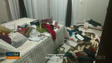 Assaltantes rendem mãe e filho em apartamento de Dois Vizinhos - A mulher foi agredida pelos bandidos.