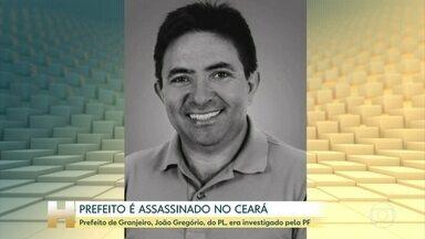 João Gregório Neto (PL), prefeito de Grajeiro, no Ceará, é assassinado - O prefeito de Granjeiro, cidade de 4800 habitantes no sul do Ceará foi assassinado na manhã desta terça-feira (24). João Gregório Neto, do PL, saiu para caminhar e foi morto na rua.