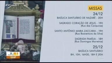 Confira horários de missas natalinas da Arquidiocese de Belém - Confira horários de missas natalinas da Arquidiocese de Belém