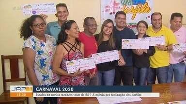 Carnaval 2020: escolas de samba recebem R$ 1,5 milhão para realização dos desfiles - Carnaval 2020: escolas de samba recebem R$ 1,5 milhão para realização dos desfiles