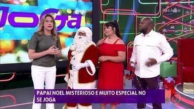 Quem é o Papai Noel misterioso do 'Se Joga'? - Tente adivinhar