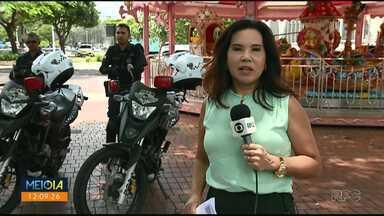 Guarda Municipal usa motos para intensificar segurança no centro - Em 14 dias de trabalho, motopatrulha já atendeu a 51 ocorrências