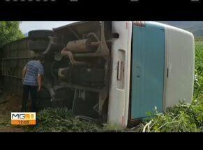 Leste de Minas Gerais registra três acidentes de trânsito - Em Itambacuri (MG), uma carreta caiu de uma ponte. Em Teófilo Otoni e Frei Gaspar as ocorrências envolveram motociclistas.