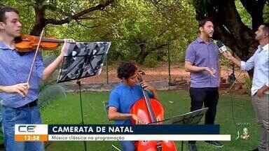 Música clássica na programação de natal no Crato - Saiba mais no g1.com.br/ce