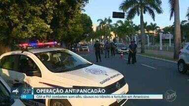 Guarda Municipal e PM de Americana iniciam operação para evitar aglomerações e som alto - Forças de segurança se concentram na Avenida Brasil, mas ação também ocorrerá em outros pontos da cidade.