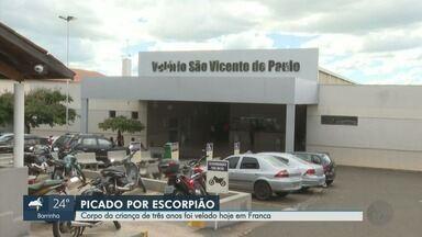 Família decide doar fígado de menino morto após picada de escorpião em Franca, SP - João Gabriel Borges da Silva, de 3 anos, estava internado na Santa Casa há 10 dias.