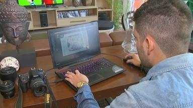 Reportagem da TV TEM fala sobre home-office - Reportagem da TV TEM fala sobre home-office