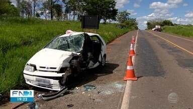 Acidentes de trânsito fazem vítimas na região de Presidente Prudente - Ocorrências foram registradas nesta terça-feira (24).