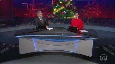Jornal Nacional, Íntegra 24/12/2019 - As principais notícias do Brasil e do mundo, com apresentação de William Bonner e Renata Vasconcellos.