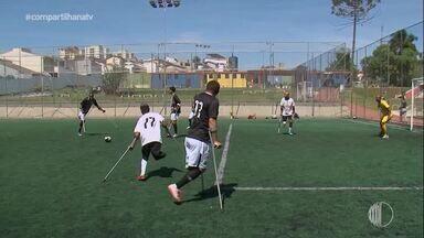 Superação do time de futebol de amputados - Assista ao vídeo