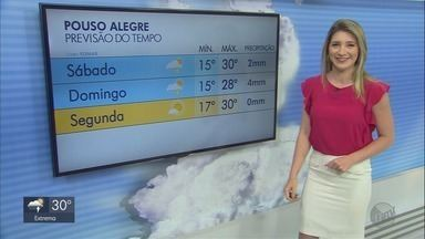 Confira a previsão do tempo para o Sul de Minas - Próximos dias devem ser de temperaturas altas na região