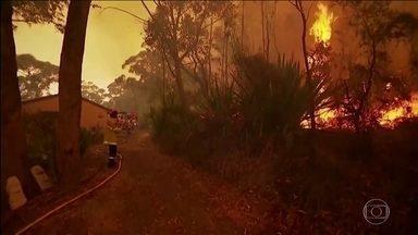 Calor extremo espalha incêndios na Austrália - Temperatura passa dos 40 graus em todos os estados australianos. Incêndios já mataram 10 pessoas desde setembro