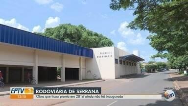 Moradores de Serrana, SP, esperam há 3 anos inauguração de rodoviária - Prédio está pronto desde 2016, mas até hoje não foi aberto para a população.