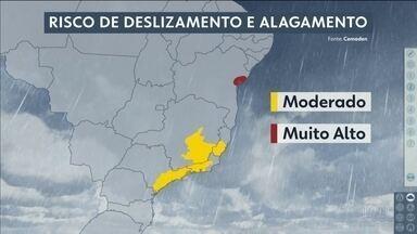 A previsão do tempo é de mais chuva - Tiago Scheuer comenta as temperaturas mais amenas no Sudeste e no Sul.