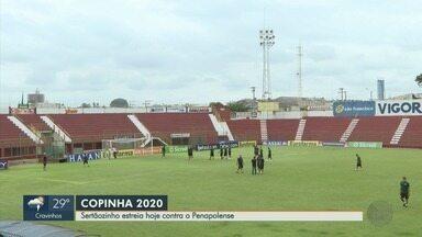 Sertãozinho vai contar com apoio da torcida na estreia da Copinha - Time enfrenta Penapolense no estádio Fredericão nesta quinta-feira.