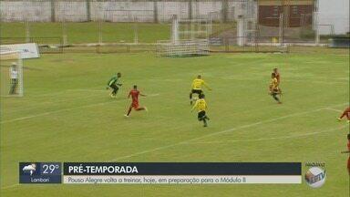 Boa Esporte, Caldense e Pouso Alegre retomam trabalhos de olho na temporada - Boa e Pouso já voltaram a treinar; Caldense volta sexta-feira