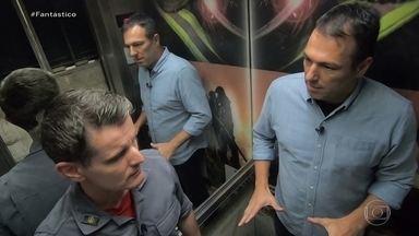 Laudo técnico afirmava que condições de elevador que caiu em Santos eram boas - Fantástico teve acesso ao laudo técnico realizado pela empresa responsável pela manutenção do elevador. Quatro pessoas da mesma família morreram no acidente em Santos.