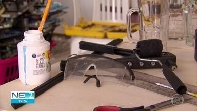 Conheça o artesanato do futuro que será exposto na Fenahall - Peças são feitas a partir de equipamentos quebrados ou ultrapassados