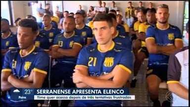 Serranense inicia pré-temporada para o Módulo 2 do Mineiro - Time de Nova Serrana tem apenas cinco jogadores da última temporada