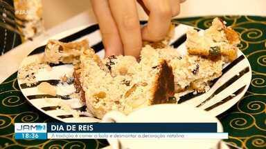 Aprenda a fazer bolo de reis - Tradição é comer bolo e desmontar decoração natalina.
