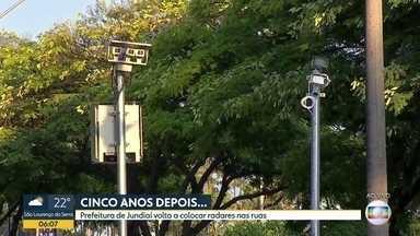 Radares de volta nas rua de Jundiaí - Multas começam a valer em abril.