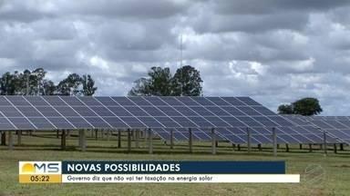 Governo federal promete trabalhar para não criar imposto sobre energia solar - undefined