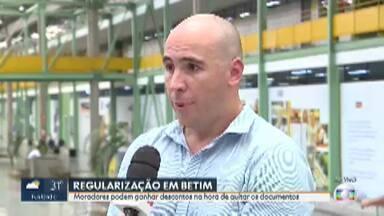 Prefeitura de Betim oferece descontos para quem quer regularizar seu imóvel - Morador deve procurar o setor de protocolos da prefeitura e pedir o seu requerimento.