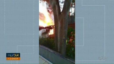 Corpo de Bombeiros registraram quase 500 incêndios em 2019 em Foz do Iguaçu - Levantamento do Corpo de Bombeiros mostra que desse total, 246 casos foram em vegetação.