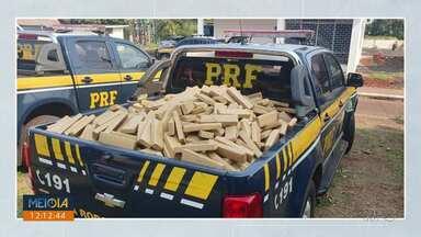63 toneladas de drogas foram apreendidas pela Polícia Rodoviária Federal do Paraná - Esse número fechou um recorde histórico de apreensões em 2019.