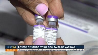 Está faltando vacinas em postos de saúde de Londrina - Ministério da Saúde diz que o fornecimento da vacina pentavalente deve ser normalizado este mês.