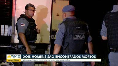 Dois homens são encontrados mortos dentro de carro em Manaus - Dois homens são encontrados mortos em Manaus