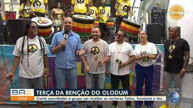 Grupo Olodum realiza show na primeira terça-feira de 2020, no Pelourinho - Evento vai receber convidados como Tatau, Sarajane e Jau.