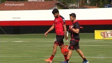 Zé Roberto é o novo reforço do Atlético-GO para o ataque - Atacante já está integrado ao elenco rubro-negro