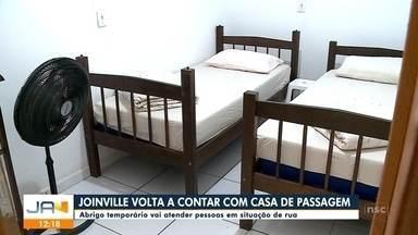 Joinville ganha uma casa de passagem para moradores de rua - Joinville ganha uma casa de passagem para moradores de rua
