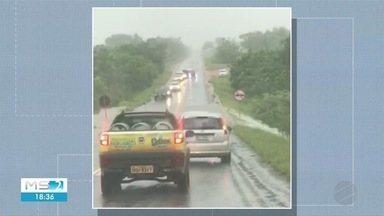Chuva forte em boa parte do estado nesta terça-feira - Chuva forte em boa parte do estado nesta terça-feira